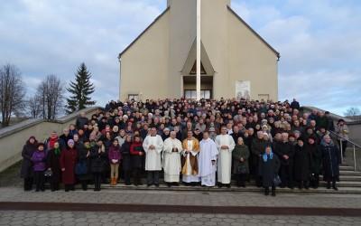 Kelios šventinės akimirkos iš Ignalinos parapijos