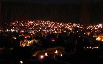 Visų  Šventųjų  ir  Vėlinių  oktavos  bei  kapinių  lankymo  laikas