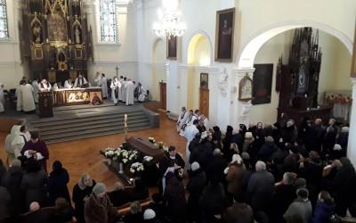 Kunigo Genrik Juzef Blaževič laidotuvės