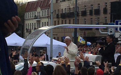 Susitikimas su Popiežiumi Pranciškumi