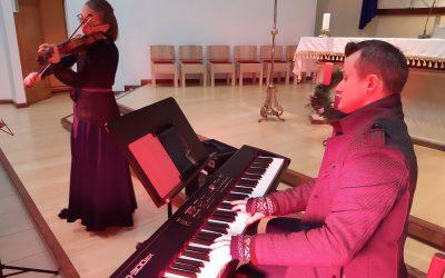 Bažnyčioje koncertavo Ignalinos krašte užaugę puikūs muzikantai
