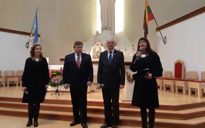Prasmingas savaitgalis Ignalinos bažnyčioje