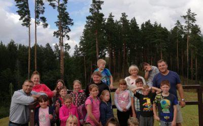 Vaikų vasaros stovyklos akimirkos